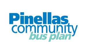 Pinellas Community Bus Plan logo