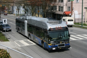 BC Transit Articulated Bus
