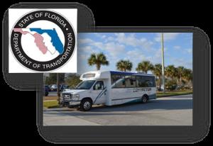 FDOT Logo & PSTA Connector Bus