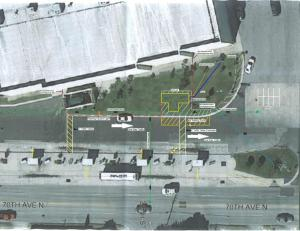 Proposed Site Plan - Pinellas Park Transit Center