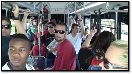 Record ridership has led to standing-room-only loads, even during the mid-day.