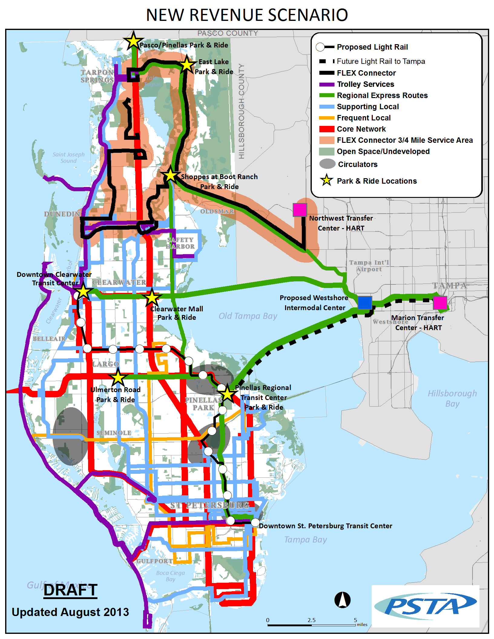 Bus Service Throughout Pinellas County Greenlight Pinellas Plan
